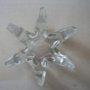 6 ágú üveg teamécses-tartó