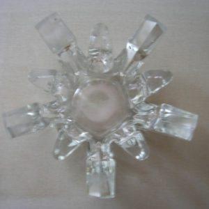 10 ágú üveg teamécses-tartó
