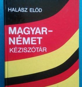 Magyar~német kéziszótár